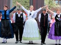 Tänzerinnen unserer Trachtengruppe